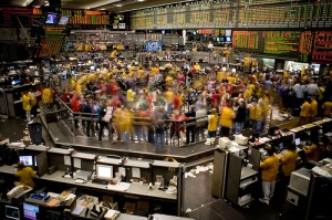 Chicago Mercantile Exchange Trading Floor