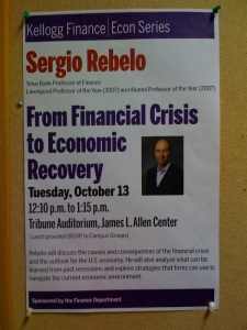 Sergio Rebelo Talk