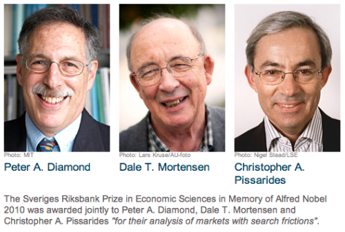 2010 Nobel Laureates in economics