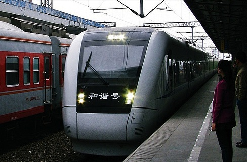 A Chinese high speed train