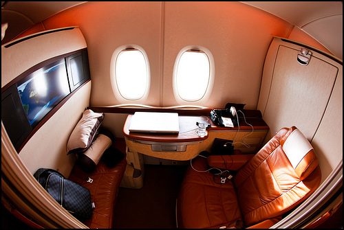 Singapore Airlines first-class suite, Airbus A380