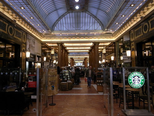 Starbucks Paris