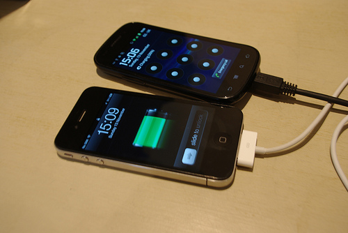 Apple iPhone 4 and Samsung Nexus S